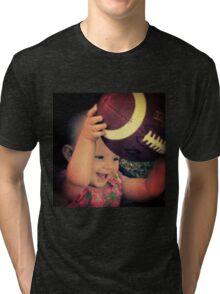 Touch Down Baby! Tri-blend T-Shirt