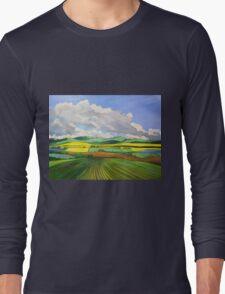 South Australian Canola fields via Yacka # 4 Long Sleeve T-Shirt