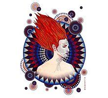 Radiante mujer Photographic Print