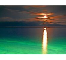 moon love... Photographic Print