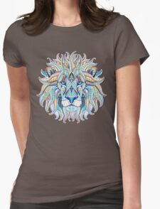 Ethnic Lion Womens Fitted T-Shirt