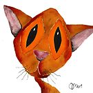 ORANGE CAT by Hares & Critters