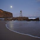Moonlight at Redhead Beach, NSW, Australia by Littlebirdy73