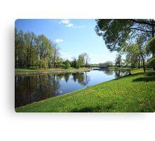 Beautiful spring landscape Canvas Print