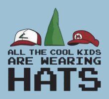 Cool Kids Wear Hats Kids Clothes
