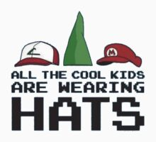 Cool Kids Wear Hats Kids Clothes