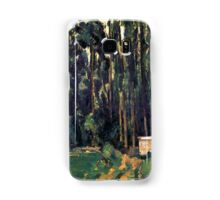 1880 - Paul Cezanne - Poplars Samsung Galaxy Case/Skin