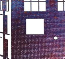 TARDIS Fade Away Sticker