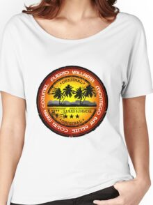 World Full Of Sunset Beach Women's Relaxed Fit T-Shirt