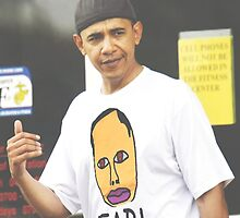 Barack Obama Future Wolfgang Kill Them All  by cracktraffic