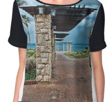 Perspective Chiffon Top