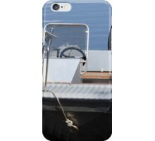 Fishing  Motorboat  iPhone Case/Skin