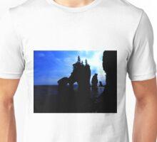 Hopewell Rocks In Silhouette Unisex T-Shirt