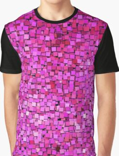 Graphic, Paint Chips, Pink (Texture, Background) Graphic T-Shirt