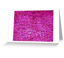Graphic, Paint Chips, Pink (Texture, Background) Greeting Card