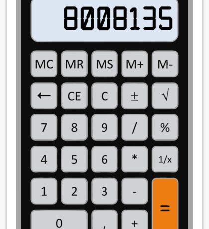 Calculator Memories Sticker