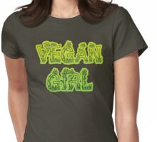 Vegan Girl Womens Fitted T-Shirt