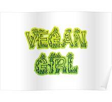 Vegan Girl Poster
