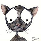 CRAZY CAT by Hares & Critters