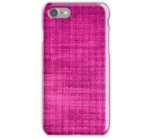 Graphic, Pixel Scape, Pink (Texture, Background) iPhone Case/Skin