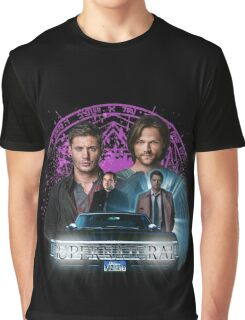 Supernatural The Roads Journey Graphic T-Shirt