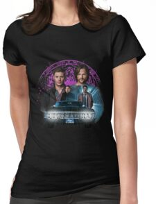 Supernatural The Roads Journey Womens Fitted T-Shirt