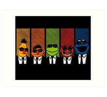 Reservoir Muppets V2 Art Print