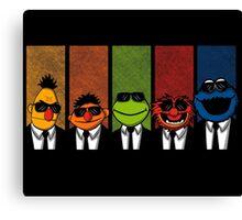 Reservoir Muppets V2 Canvas Print