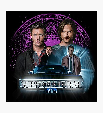 Supernatural The Roads Journey Photographic Print