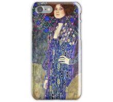 Gustav Klimt - Emilie Floege  iPhone Case/Skin
