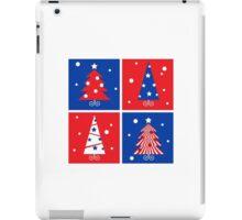 Christmas Trees design blocks icons iPad Case/Skin