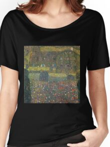 Gustav Klimt - Country House By The Attersee Women's Relaxed Fit T-Shirt