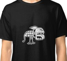 Exotic Primitive Monster Illustration Classic T-Shirt