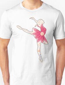 Vintage ballet dancer Unisex T-Shirt