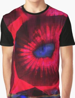 Graphic, Kiwi, Red (Wallpaper, Background) Graphic T-Shirt