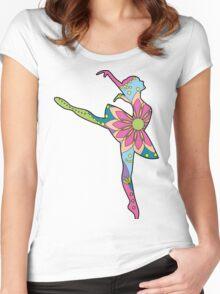 Ballet dancer Women's Fitted Scoop T-Shirt