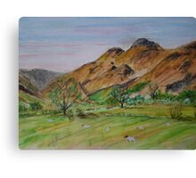 Lovely Langdale Canvas Print