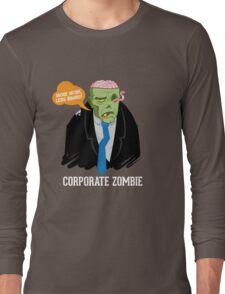 Corporate Zombie Long Sleeve T-Shirt