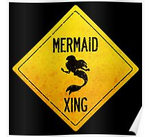 Mermaid Crossing Poster