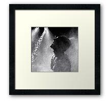 Marathoner Framed Print