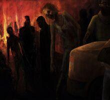 The Ravenous Undead by Adam Howie