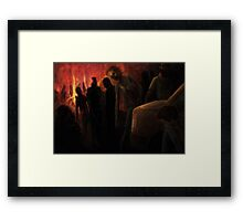 The Ravenous Undead Framed Print