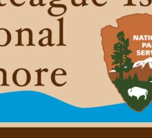 Assateague Island National Seashore sign Sticker