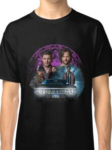 Supernatural Family dont end with Blood 2 Classic T-Shirt