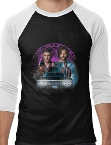 Supernatural Family dont end with Blood 2 Men's Baseball ¾ T-Shirt