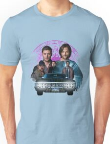 Supernatural Family dont end with Blood 2 Unisex T-Shirt