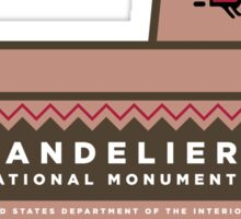 Bandelier National Monument sign Sticker