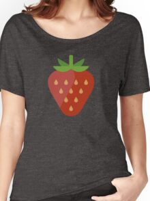Strawberry Icon Women's Relaxed Fit T-Shirt