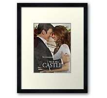 Caskett Wedding Framed Print