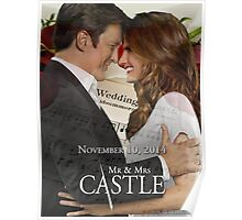 Caskett Wedding Poster